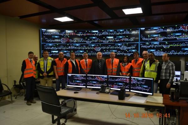 Genel Müdür Erdem DİREKLER Irmak-Karabük-Zonguldak (IKZ) demiryolu hattının rehabilitasyon ve sinyalizasyon projesini yerinde inceledi.