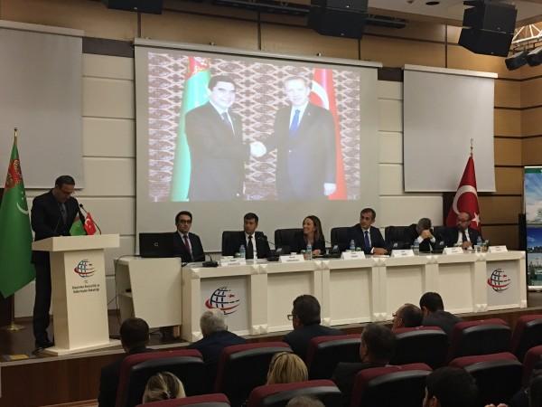 Sürdürülebilir Ulaştırma Sisteminde Türkmenistan'ın ve Türkiye'nin Rolü Çalıştayı