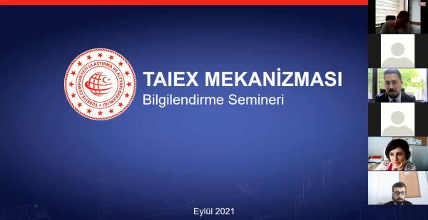 TAIEX Bilgilendirme Semineri Düzenlendi