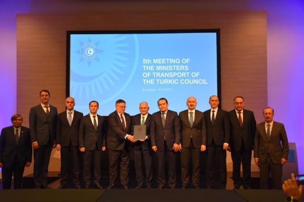 Türk Konseyi Ulaştırma Bakanları 5. Toplantısı Budapeşte'de gözlemci üye Macaristan'ın ev sahipliğinde gerçekleştirilmiştir.