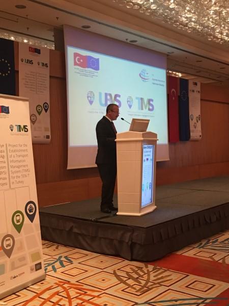 Ulaştırma Bilgi Yönetimi Sistemi (UBYS) Oluşturulması Projesi açılış toplantısı Genel Müdürümüz Erdem DİREKLER'in katılımı ile yapıldı.